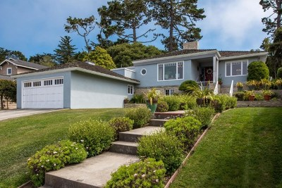 Pacific Grove Single Family Home For Sale: 1067 Morse Drive