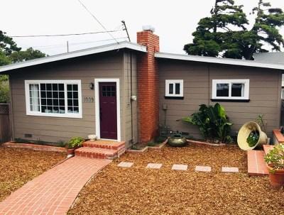 Monterey Single Family Home For Sale: 1099 Prescott Avenue
