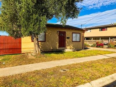 Salinas Single Family Home For Sale: 1010 Mohar Street