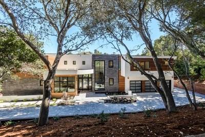 Hillsborough Single Family Home For Sale: 1225 La Cumbre Road