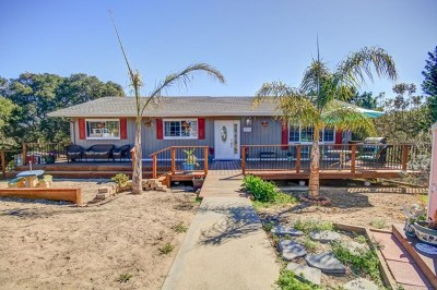 Salinas Single Family Home For Sale: 18730 Linda Vista Place