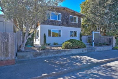 Pacific Grove Single Family Home For Sale: 243 Spruce Avenue