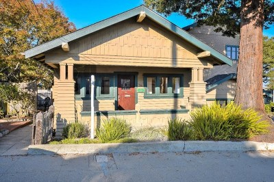 Pacific Grove Single Family Home For Sale: 316 14th Street