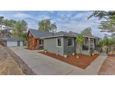 Monterey Single Family Home For Sale: 1420 Munras Avenue