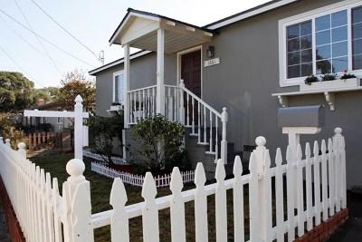 Monterey Single Family Home For Sale: 1661 David Avenue