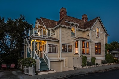 Pacific Grove Single Family Home For Sale: 232 17th Street