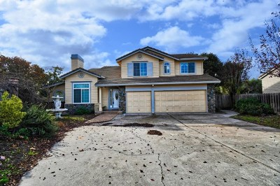 Salinas Single Family Home For Sale: 20482 Franciscan Way