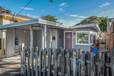 Pacific Grove Single Family Home For Sale: 205 Walnut Street