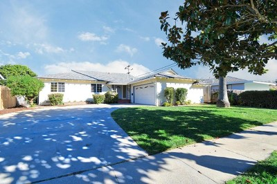 Salinas Single Family Home For Sale: 752 Carmelita Drive
