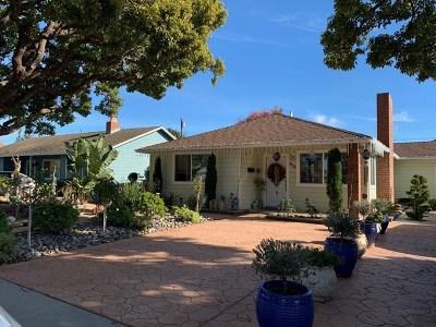 Salinas Single Family Home For Sale: 216 Maryal Drive