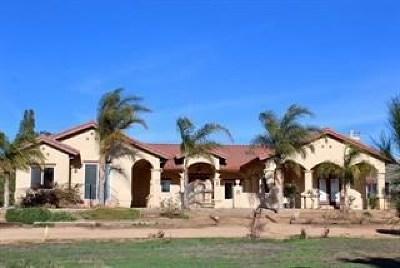 Monterey County, San Luis Obispo County Single Family Home For Sale: 34725 Metz Road