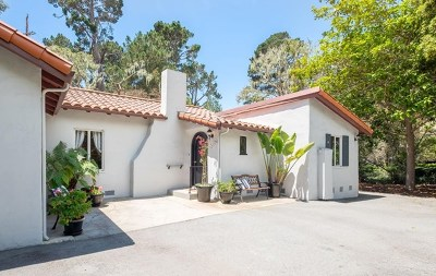 Monterey Single Family Home For Sale: 1100 Pacific Street