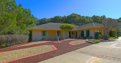 Salinas Single Family Home For Sale: 25199 Casiano Drive