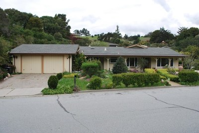 Monterey Single Family Home Active Under Contract: 10121 Blue Larkspur Lane