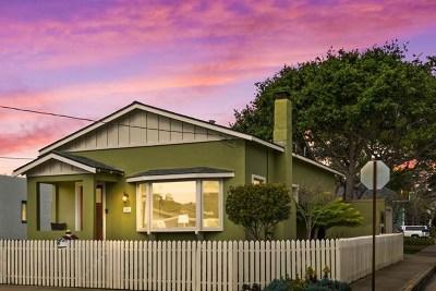 Pacific Grove Single Family Home For Sale: 502 Cedar Street