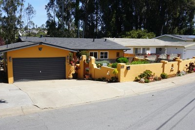 Monterey Single Family Home For Sale: 25 Ralston Drive