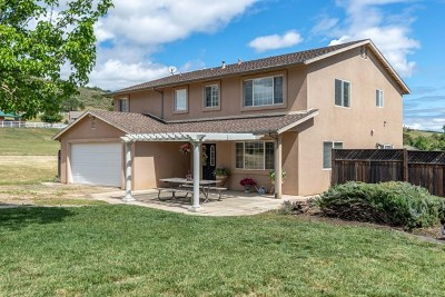 King City Single Family Home For Sale: 45163 Palomino Road