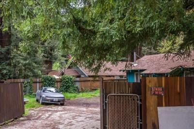 Single Family Home For Sale: 8125 La Honda Road