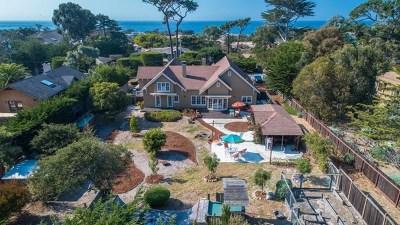 Pacific Grove Single Family Home For Sale: 415 Asilomar Boulevard