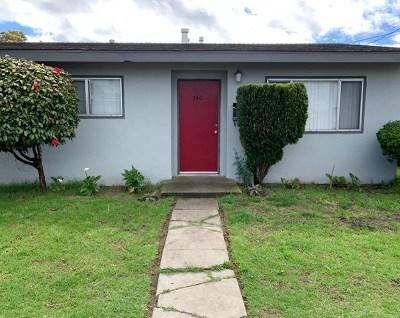 Salinas Single Family Home For Sale: 740 Elkington Avenue