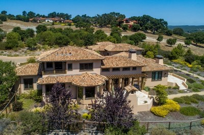 Monterey Single Family Home Active Under Contract: 7548 Monterra Ranch Road