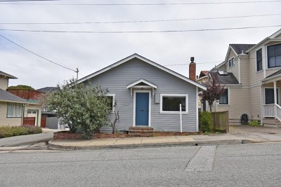 Pacific Grove Single Family Home For Sale: 147 Monterey Avenue