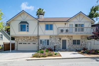 Pacific Grove Single Family Home For Sale: 135 Pacific Avenue