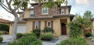 Carlsbad Single Family Home For Sale: 3483 Pleasant Vale Drive