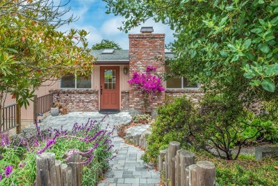 Pacific Grove Single Family Home For Sale: 334 Bishop Avenue