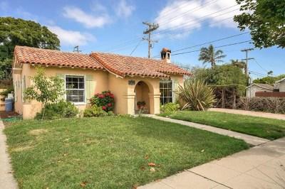 Salinas Single Family Home For Sale: 309 Alameda Avenue