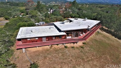 Ukiah Single Family Home For Sale: 5801 Lake Ridge Road