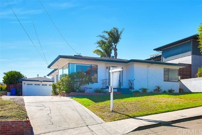 San Diego Single Family Home For Sale: 3427 Fenelon Street