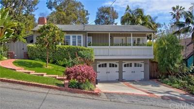 Laguna Beach Single Family Home For Sale: 655 Bluebird Canyon Drive