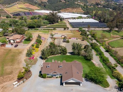 San Marcos Single Family Home For Sale: 3232 N Twin Oaks Valley Road