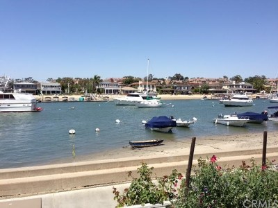 Newport Beach Single Family Home For Sale: 139 N Bay Front N
