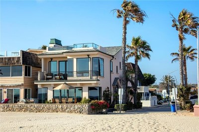 Newport Beach Single Family Home For Sale: 6300 W Oceanfront