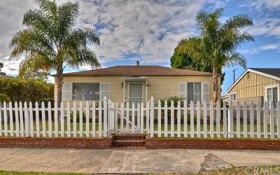 Single Family Home For Sale: 1107 Lake Street