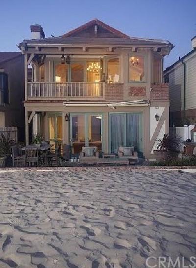 Newport Beach Rental For Rent: 4909 Seashore Drive