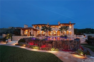 Newport Coast Single Family Home For Sale: 9 Del Mar