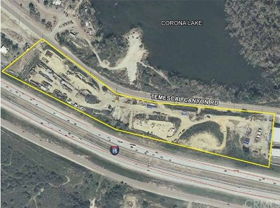 Corona Residential Lots & Land For Sale: 12705 Temescal Canyon Road