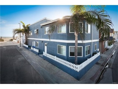 West Newport Beach (Wsnb) Multi Family Home For Sale: 7201 Seashore Drive