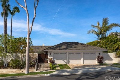 Corona Del Mar Single Family Home For Sale: 1505 Sandcastle Drive