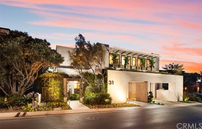 Dana Point Single Family Home For Sale: 31 Strand Beach Drive