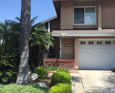Laguna Hills Single Family Home Active Under Contract: 24731 Clarington Drive