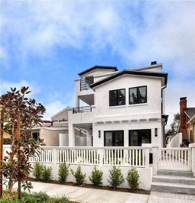 Corona Del Mar North Of Pch (Cnhw) Condo/Townhouse For Sale: 608 Heliotrope Avenue