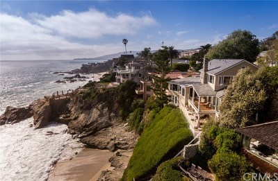 Laguna Beach Single Family Home For Sale: 2173 Ocean Way