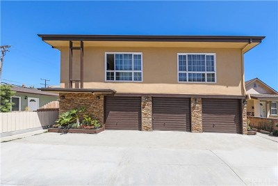 Huntington Beach Multi Family Home Active Under Contract: 222 3rd Street