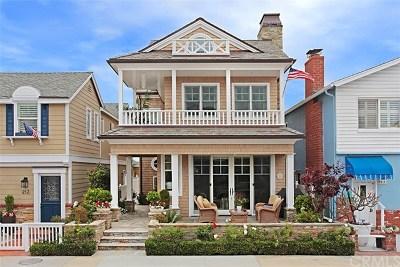 Newport Beach Single Family Home For Sale: 215 Amethyst Avenue
