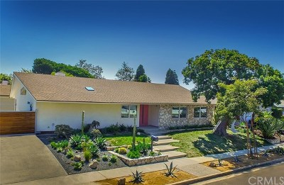 Newport Beach Single Family Home For Sale: 1218 Highland Drive