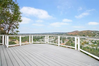 North Tustin Single Family Home For Sale: 12372 Circula Panorama